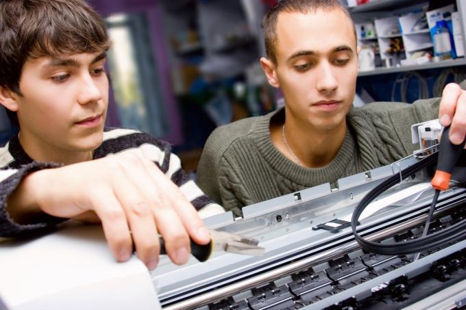Как подключить два принтера