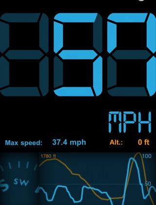 установите в свое мобильное устройство специальное приложение, и ваша текущая скорость движение будет отображаться на дисплее гаджета