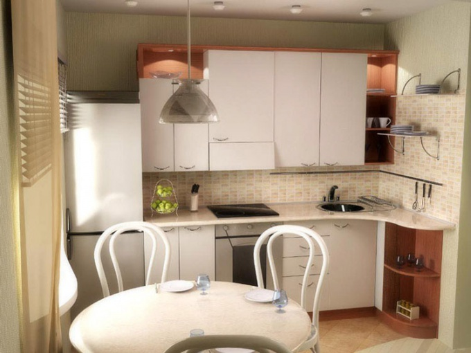 How to equip a small kitchen