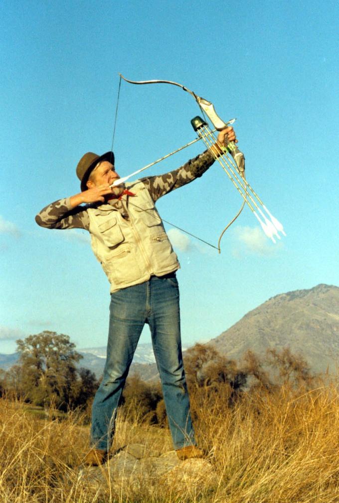 Как стрелять из лука