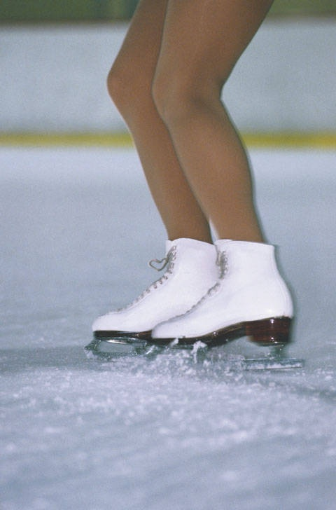How to learn to brake on skates