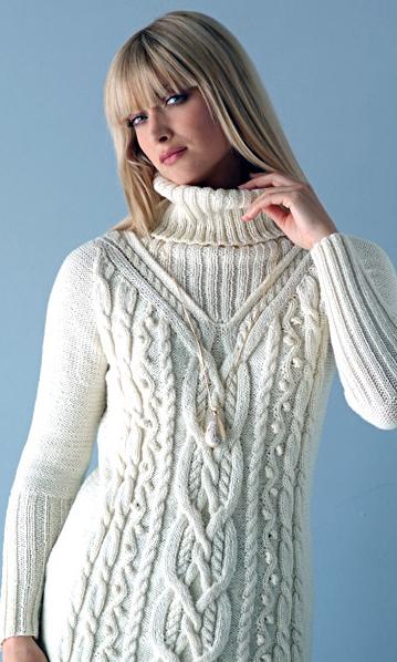 Как вязать спицами свитер