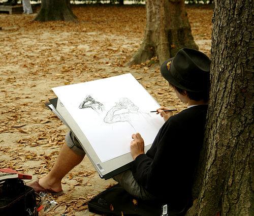 Чтобы научиться быстро рисовать, необходимо запастись терпением, усидчивостью