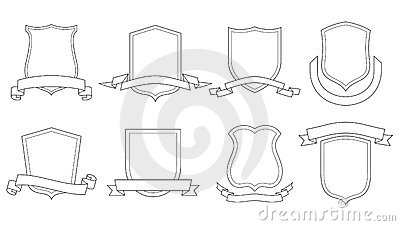 How to draw coat of arms