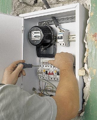 How to install an electric meter
