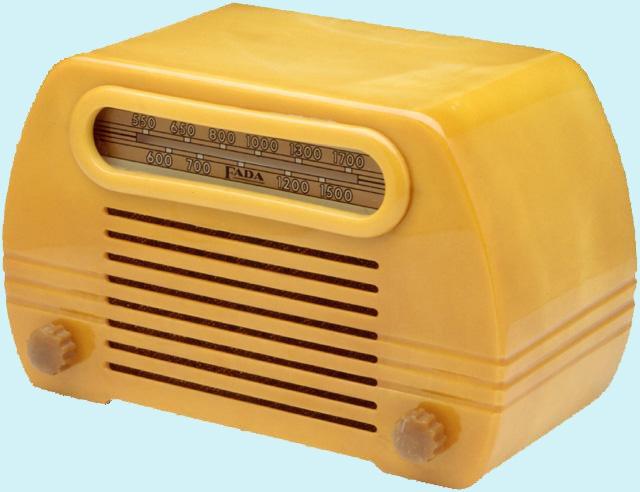 Nowadays few people use the stationary radio