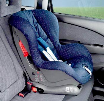 How to attach a car seat