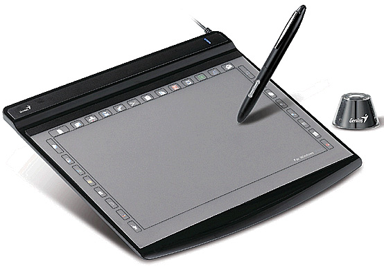 To draw on a graphics tablet fun and convenient