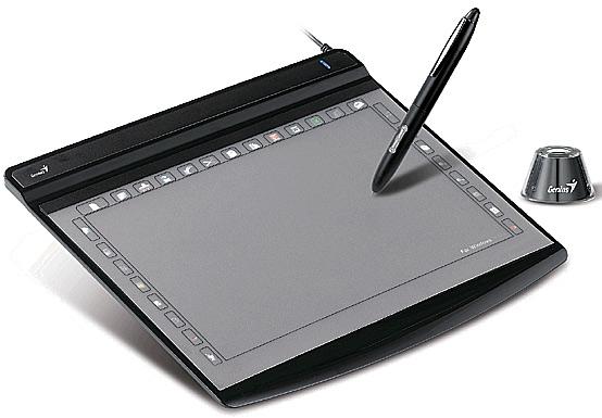 Рисовать на графическом планшете интересно и удобно