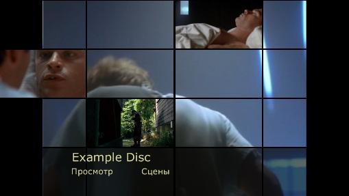 Приятно включить диск, меню которого красиво оформлено и позволяет осуществлять навигацию по разделам