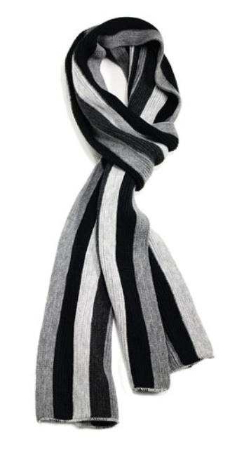 Как носить мужские шарфы