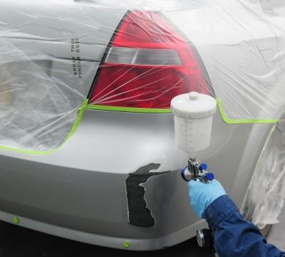 Покраска бампера - обязательная часть ремонта автомобиля