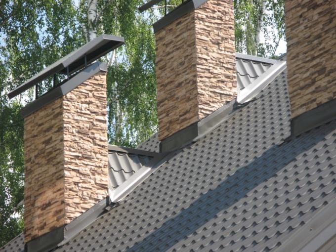 Крыша из металлочерепицы - это современно и красиво