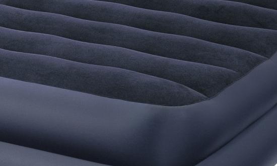 Надувной матрас можно легко повредить