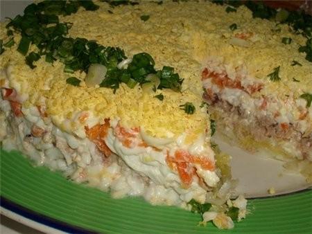 Как приготовить быстрые салаты