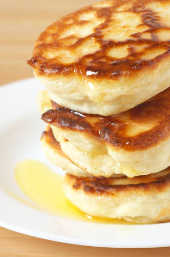 How to cook pancakes without yeast