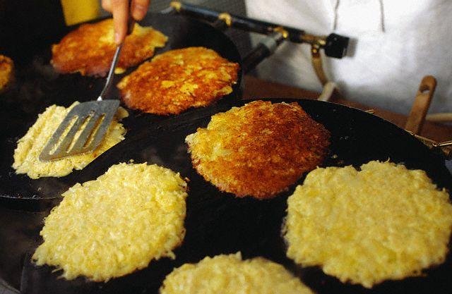Разновидности драников встречаются и в европейсой кухне