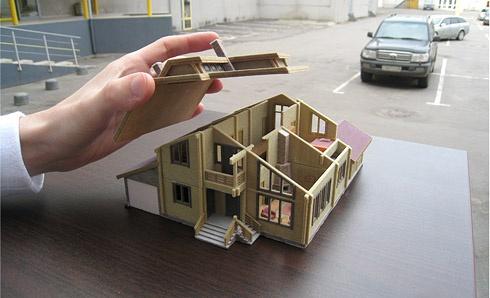 создать макет дома