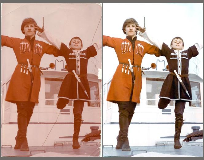 Как реставрировать фото