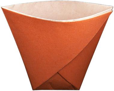 Как сделать стаканчик из бумаги