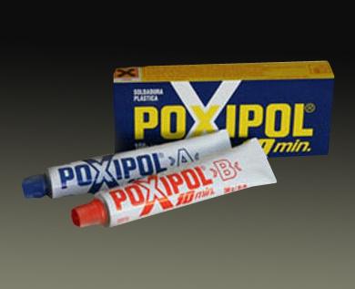 Металлические предметы можно склеить при помощи эпоксидных клеев