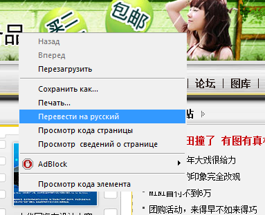 How to translate the website into Russian language