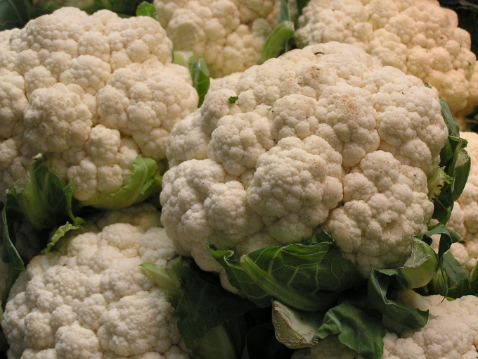 How to cook the batter on to the cauliflower