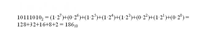 Как перевести в десятичную <strong>систему</strong> двоичные <b>числа</b>