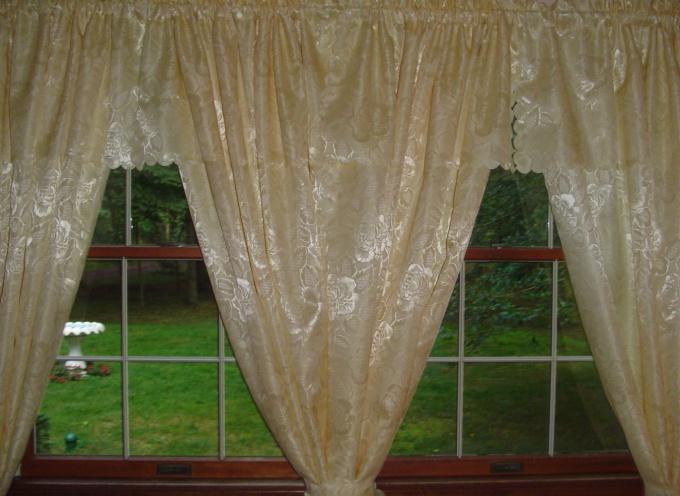 Как прикрепить шторы