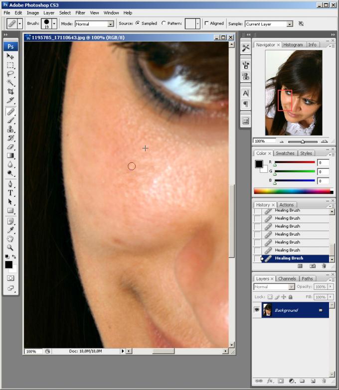 Как сделать <strong>кожу</strong> в <b>фотошопе</b> красивой
