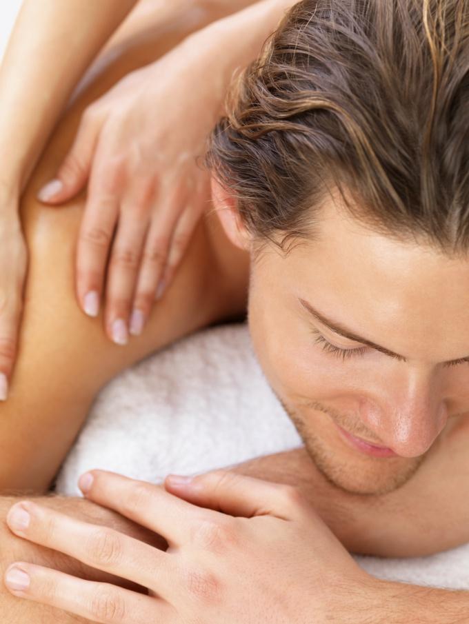 Как делать массаж мужчине