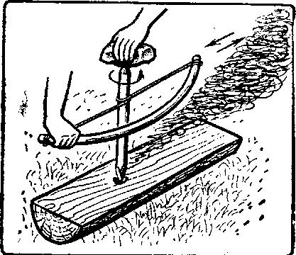 Как разжечь <b>костёр</b> без <strong>спичек</strong>