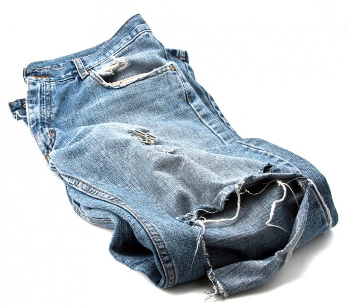Как рвать джинсы