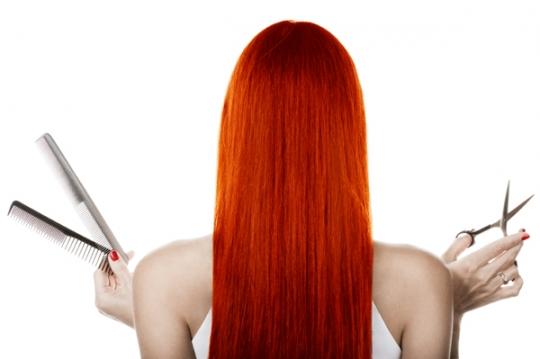 Как подстричься самой