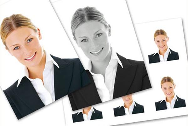 Как сделать в фотошопе фото на документы