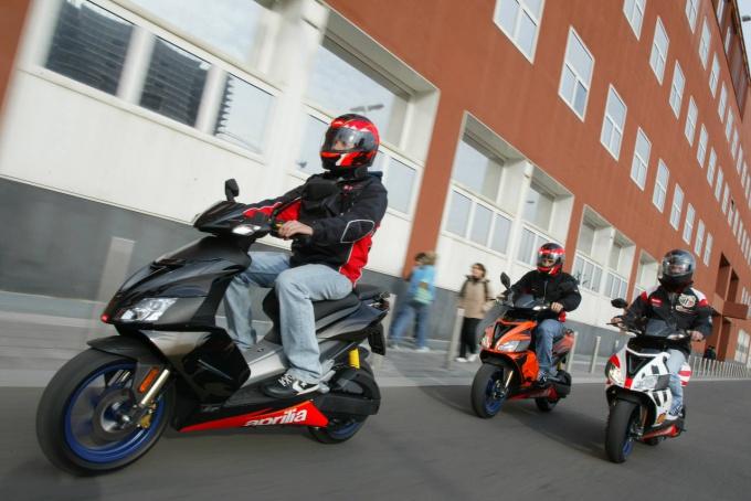 Скутер - удобное и компактное средство передвижения