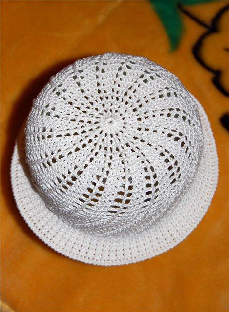 Как связать крючком шапочку для девочки