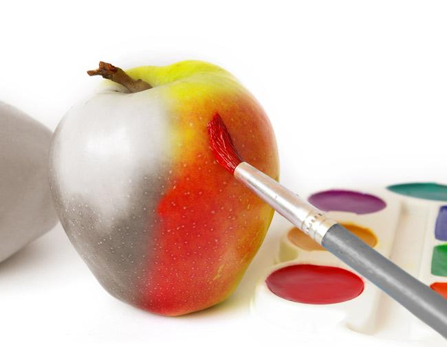 Как нарисовать фрукты