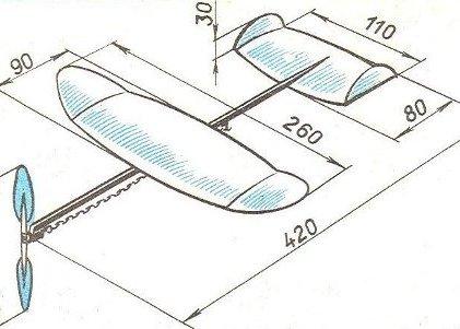 Как сделать самолет из дерева чертежи фото 227