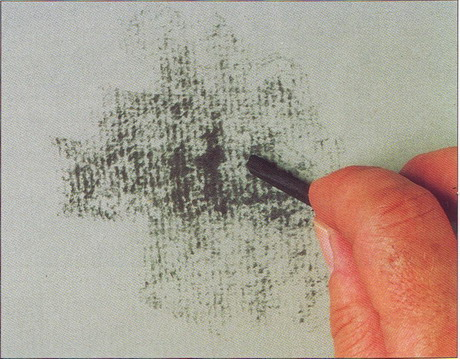 Как рисовать углем