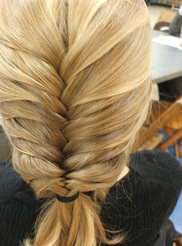 How to weave braids itself