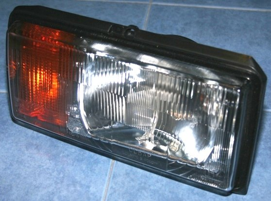 Блок-фара автомобиля ВАЗ 2107