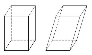 Как обнаружить диагонали параллелепипеда