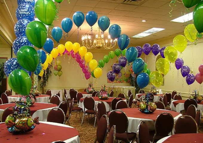 How to make an arch of balloons