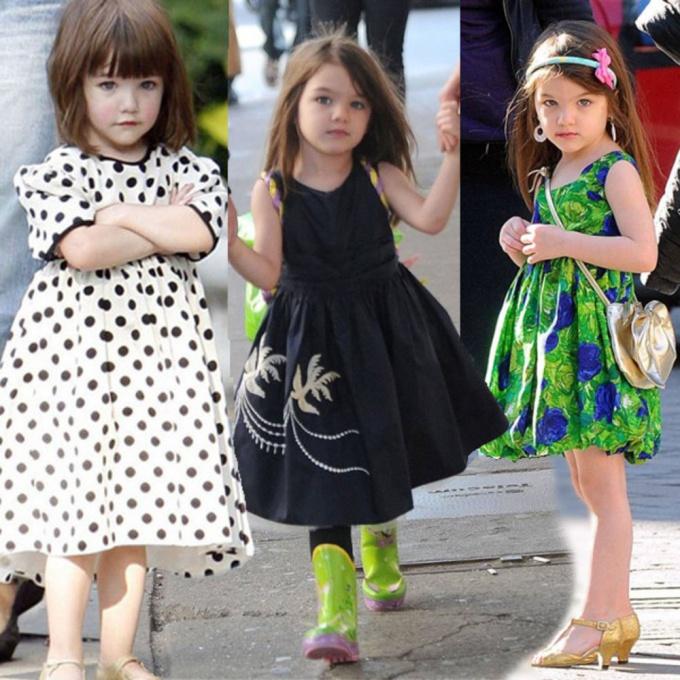 Варианты одежды для маленькой принцессы
