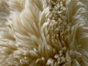 Белый мех требует деликатного ухода.