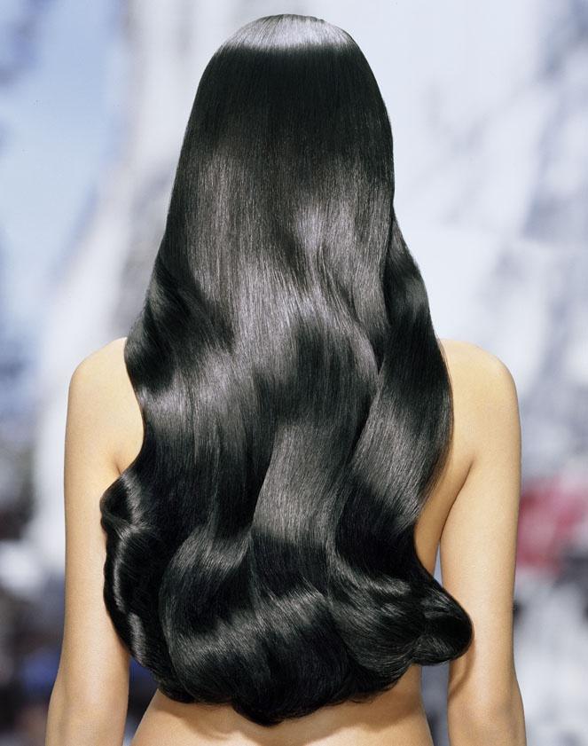 Вот так выглядят ламинированные волосы