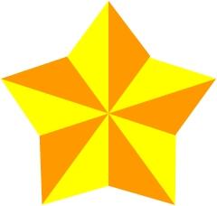 Как сделать оригами <b>звезду</b>