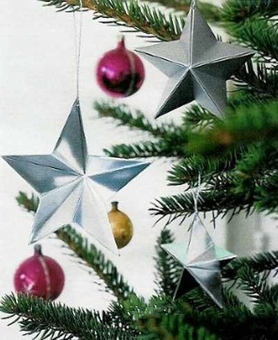 Изящная оригами-звёздочка из бумаги актуальна круглый год