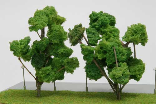 Как сделать модель дерева